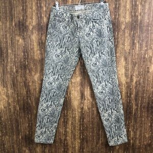Current Elliot The Ankle Skinny Canvas sz 28